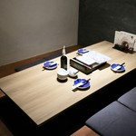もつ唐と水炊きもつ鍋 由乃 - 座敷テーブル席