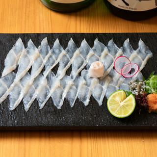魚自慢!鮮度・質・味にこだわり抜いた珠玉の魚料理を楽しむ。