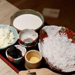 もつ唐と水炊きもつ鍋 由乃 - トリュフチーズリゾット