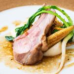 ラ メゾン フィニステール - 料理写真:仔羊のロティ―