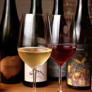 各種料理との相性抜群!いま大注目の『自然派ワイン』に舌鼓。