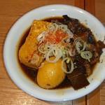 かっぽうぎ - 牛すじ豆腐煮 410円