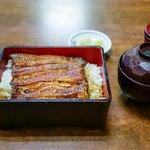 御食事処 スズキ - 料理写真:■鰻重(大)3000円