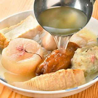 美食の秋に相応しい、優しいお出汁が決め手の京風おでん!