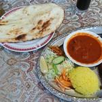 インドレストラン モティ - グリルセット全景