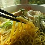 鶏白湯麺飯 暖家 - 麺リフト
