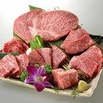 JA全農ミートフーズ直営 焼肉ぴゅあ - 黒毛和牛食べつくし七種盛り