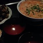 ナムチャイ - アサリ炒め&トムヤムクン(ハーフ)