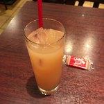 91866253 - ★★★☆ パスタランチのドリンク グレープフルーツジュース たっぷり入ってて美味しかった!