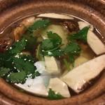 利久庵 - 松茸の土瓶蒸し