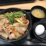 伝説のすた丼屋 - 清水桜えび塩すた丼