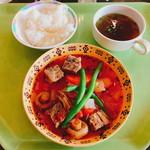 OIC食堂 - 「ボーコー」というベトナム風ビーフシチュー:550円