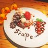 カフェ パンプルムゥス - 料理写真:9月限定 ぶどうのパンケーキ
