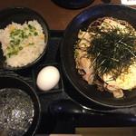 禅 - 冷たい肉蕎麦¥880