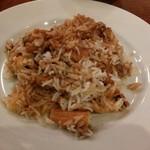 インド料理 マルジョウ - 穴子のビリヤニ