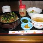 喫茶 シック - 料理写真:淡路スタミナ牛丼セット