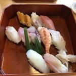 両國鮨 - 料理写真:特上にぎり2,500円也