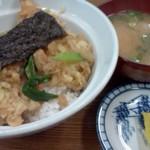 大勝食堂 - 天丼 味噌汁つき