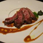 ZK - 料理写真:石垣牛ロースのステーキ マルサラソース