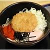 ゆで太郎 - 料理写真:温玉とろろ+コロッケ 470+80円 とろとろ&コロコロ!