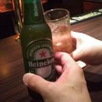 オルガンジャズ倶楽部 - ビールとジンジャーエールで乾杯!