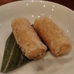 ハノイのホイさん - サイドディッシュの揚げハルマキ