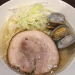 menyaryuu - 塩ラーメン750円