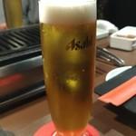91883845 - 乾杯はビールで