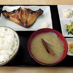 お食事処 丸味屋 - 丸味屋 「銀ダラカマ焼き定食」