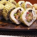 玄海鮨 - 玄海鮨さんのオリジナル「玄海巻」1日限定5本 700円