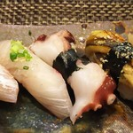 玄海鮨 - にぎり  ちょっとアップ
