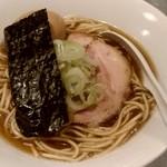 らぁめん家 有坂 - 【2018.8.31(金)】味玉醤油らぁめん(並盛・130g)880円