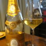 レストランユニック - 30年8月 Louis Roederer Champagne Cristal Brut 2000