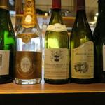 レストランユニック - 30年8月 この日のワインたち