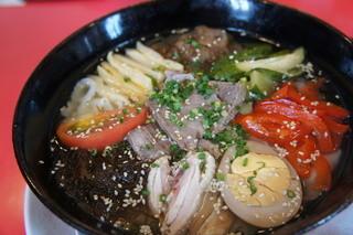 とり天発祥の店 レストラン東洋軒 - 刀削麺