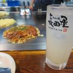 Okonomiyakinagataya - 広島レモンチューハイ