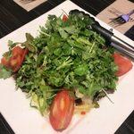 ネパール民族料理 アーガン - 「Coriander&tomato salad(パクチー&トマトのサラダ)」650円