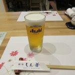 しん善 - 生ビール