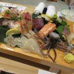 しん善 - 料理写真:刺し盛り201808.28