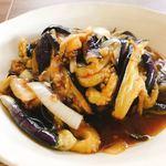 Chinese Dining 樓蘭 - 料理写真:ランチ:ナスとひき肉の酸味炒め