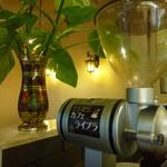 カフェ ライブラ - カフェ ライブラ オリジナルブレンド珈琲豆で淹れています。
