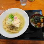 91898055 - 淡麗鶏そば+まかない丼