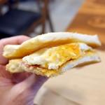 POTASTA - ベーコンエッグトーストサンドセット756円