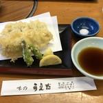 味のうえだ - 穴子の天ぷら