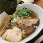めんりすと - 煮干しラーメン(卵抜き)¥900-