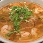ニャーヴェトナム・フォー麺 - トムヤムスープのフォー