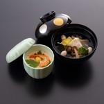 松葉寿司 - お吸物・茶碗蒸し