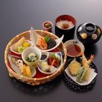 松葉寿司 - 花かご弁当