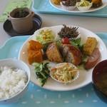 小海町農産物加工直売所 - 料理写真:ランチセット700円