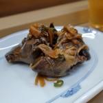 家庭料理 小川 - なす煮・とりきも煮